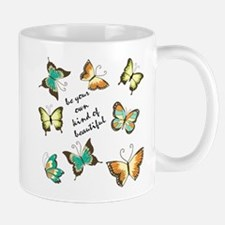 Be Your Own Beautiful Butterflies Mugs