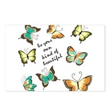 Be Your Own Beautiful Butterflies Postcards (Packa