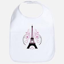 Eiffel Tower Gradient Swirl Bib