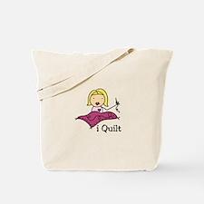 I Quilt Tote Bag