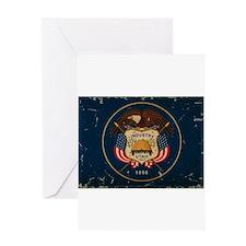 Utah State Flag VINTAGE Greeting Cards