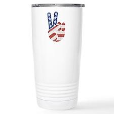 Universal Peace Hand RW Travel Mug