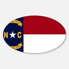 North Carolina State Flag2 Decal