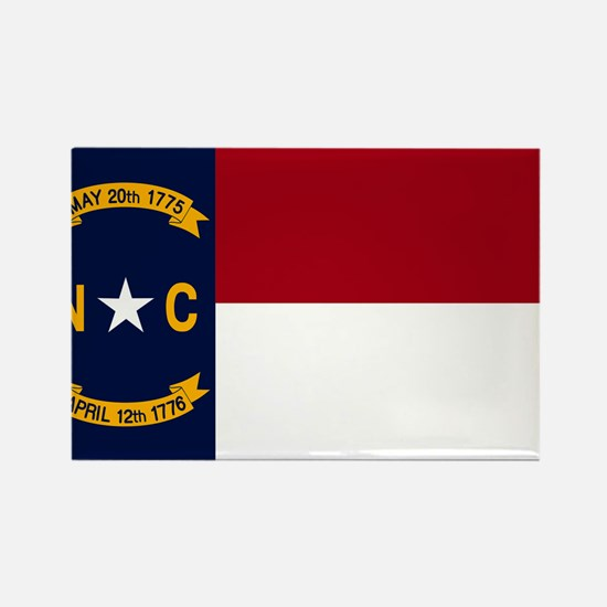 North Carolina State Flag2 Magnets