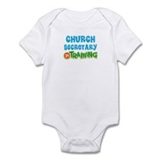 Church secretary in training Infant Bodysuit