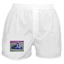 Kart Racer Inverted Color Boxer Shorts