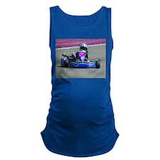 Kart Racer Inverted Color Maternity Tank Top