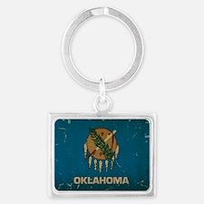 Oklahoma State Flag VINTAGE Keychains