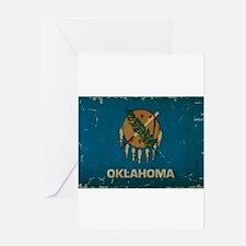 Oklahoma State Flag VINTAGE Greeting Cards