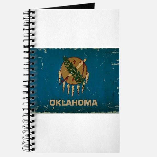 Oklahoma State Flag VINTAGE Journal