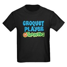Croquet player in training T