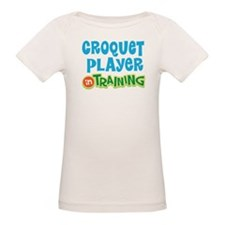 Croquet player in training Tee