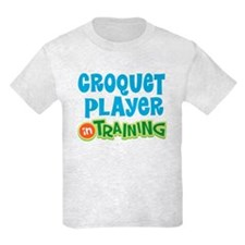 Croquet player in training T-Shirt