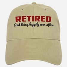 Happily Retired Baseball Baseball Cap