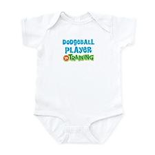 Dodgeball player in training Infant Bodysuit