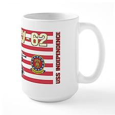 CV-62 USS Independence Mug