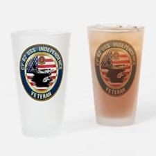 CV-62 USS Independence Drinking Glass