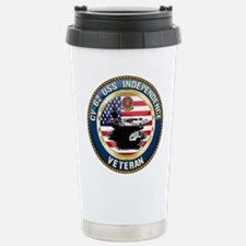 CV-62 USS Independence Travel Mug