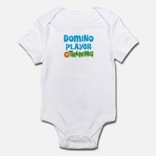 Domino player in training Infant Bodysuit