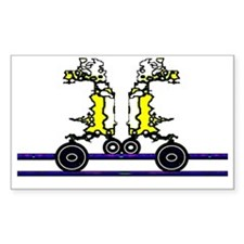 Space Riders Decal