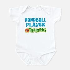 Handball player in training Infant Bodysuit