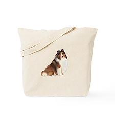 Shetland Sheepdog (sw7) Tote Bag
