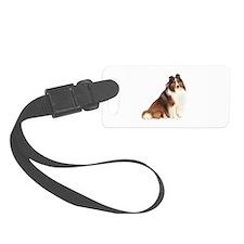 Shetland Sheepdog (sw7) Luggage Tag