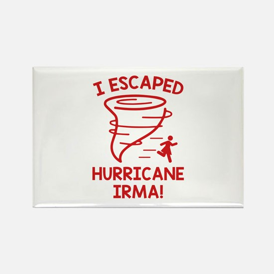 I Escaped Hurricane Irma Rectangle Magnet