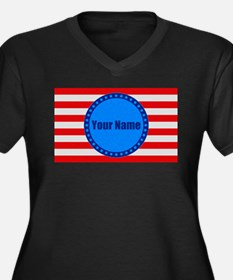 1.730 Attitude of the Nation Plus Size T-Shirt