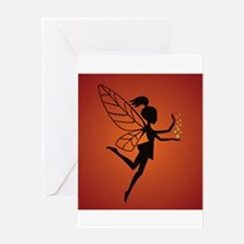 Fairy With Pixie dust Greeting Cards