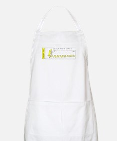 Always follow the Canaries Apron