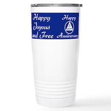 Funny Recovering alcoholic Travel Mug