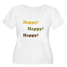 Happy! Happy! Happy! Plus Size T-Shirt