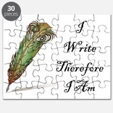 I Write Therefore I Am Puzzle