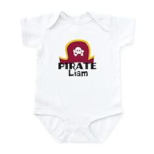 Custom Pirate Infant Bodysuit