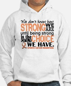 Uterine Cancer How Strong We Are Hoodie