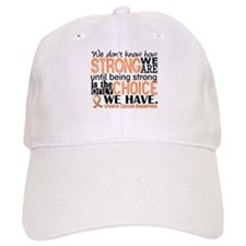 Uterine Cancer How Strong We Are Baseball Cap