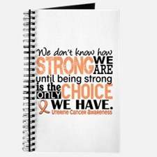 Uterine Cancer How Strong We Are Journal