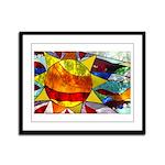 Sun Framed Panel Print