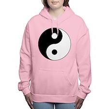 Yin Yang Symbol Women's Hooded Sweatshirt