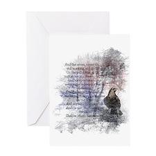 The Raven Edgar Allen Poe Poem Greeting Cards
