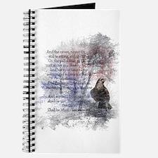 The Raven Edgar Allen Poe Poem Journal