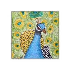 Inky Peacock Sticker