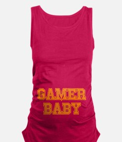Gamer Baby Maternity Tank Top