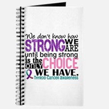 Thyroid Cancer How Strong We Are Journal
