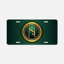 Irish Luck N Aluminum License Plate