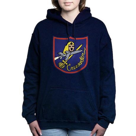 f-8logo copy.png Women's Hooded Sweatshirt