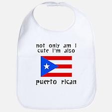Cute And Puerto Rican Bib