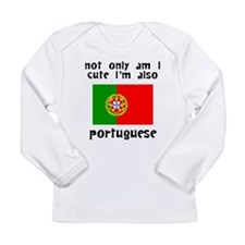 Cute And Portuguese Long Sleeve T-Shirt