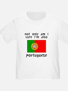 Cute And Portuguese T-Shirt
